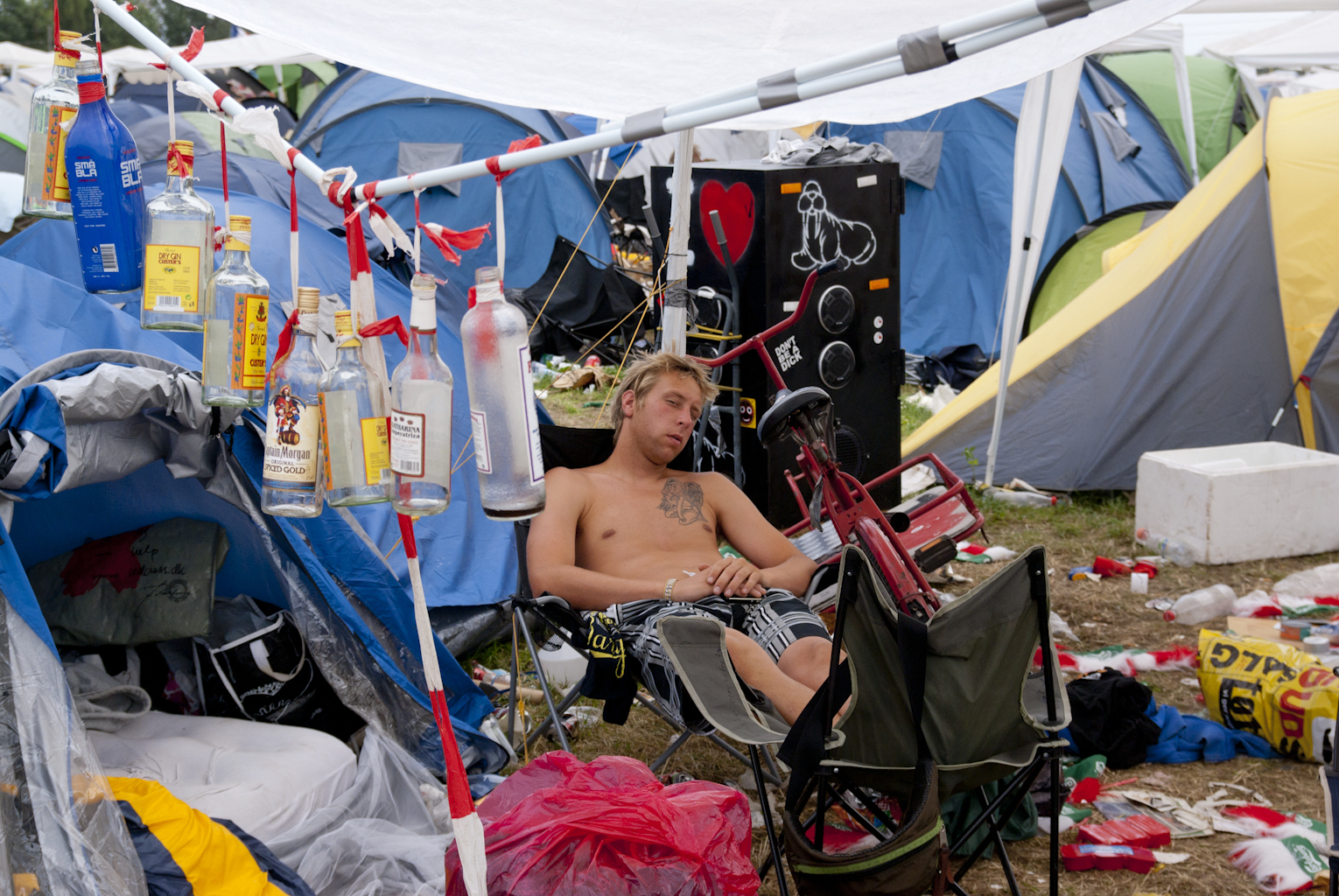 Campinglife at Roskilde Festival 2010