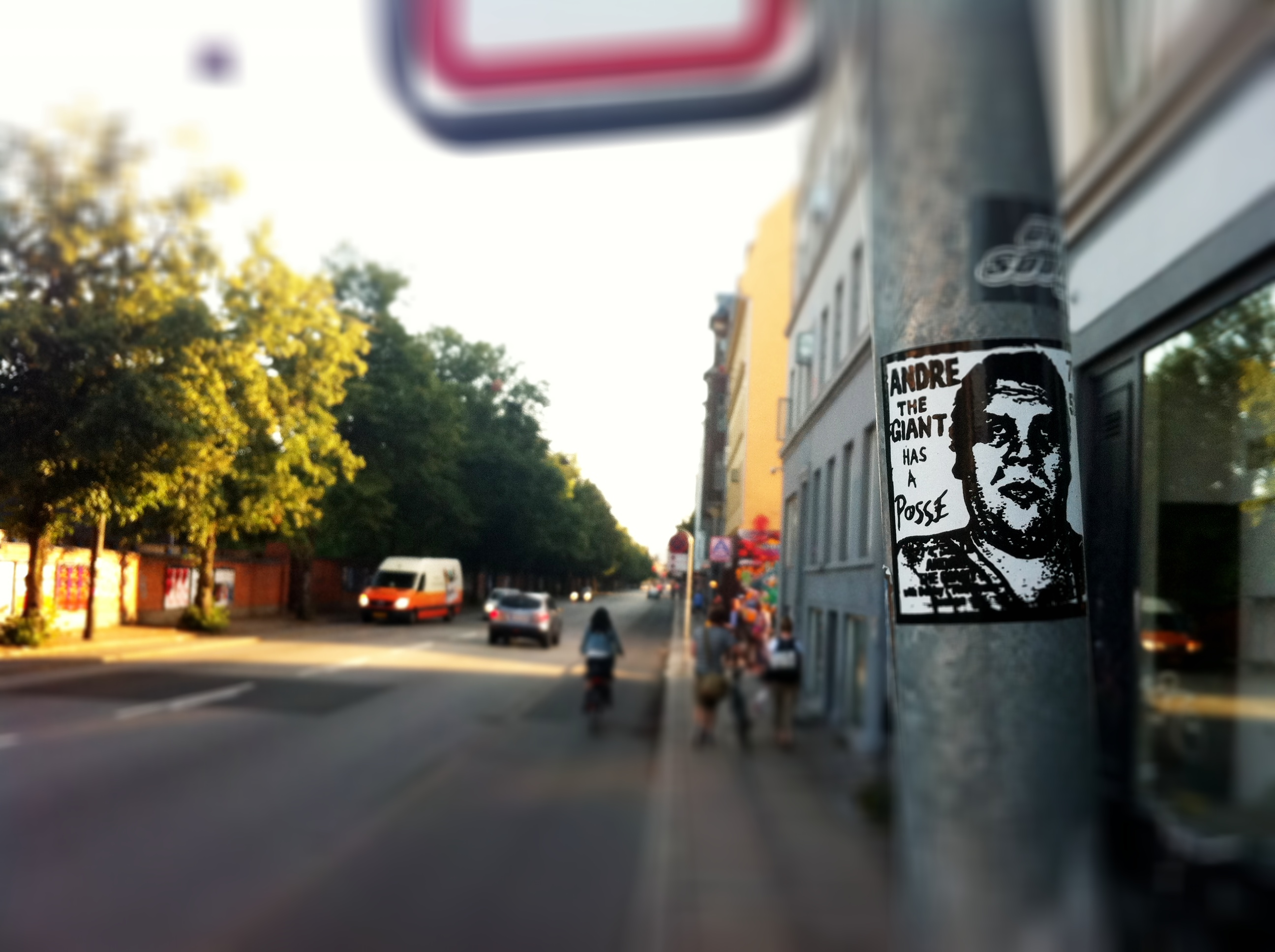 Andre the Giant shepard fairey sticker