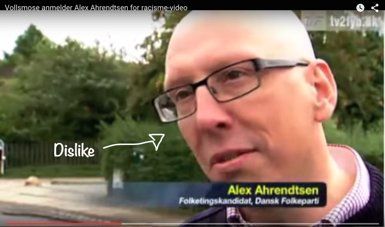 Vollsmose anmelder Alex Ahrendtsen for racisme-video